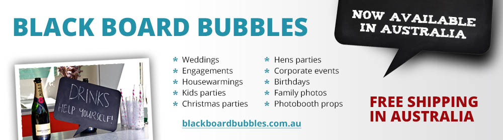 Black Board Bubbles