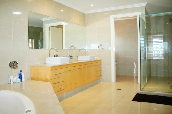 back gallery for modern bathroom floor tile ideas