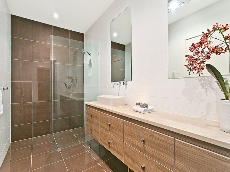 Bathroom spaced interior design ideas photos and pictures for australian homes Modern australian bathroom design
