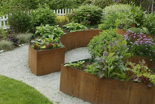 garden design with garden design ideas with raised beds popole top with front landscape ideas from
