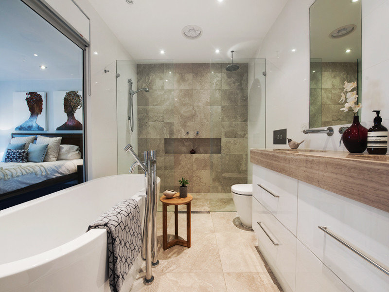 Bathroom Spaced Interior Design Ideas Photos And Pictures For